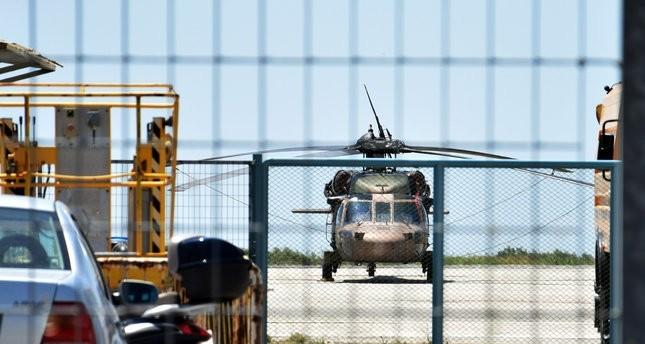 الجيش التركي يستعيد مروحية استخدمها انقلابيون للفرار إلى اليونان
