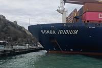 Safety concerns renewed after freighter runs aground in Istanbul's Bosporus