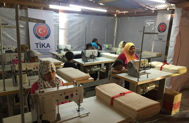 TİKA set up a sewing workshop for indigenous Muslim women in Chiapas. The agency, also active elsewhere in Mexico, recently delivered humanitarian aid to Mexicans affected by a string of earthquakes.