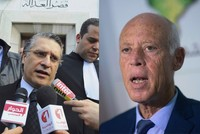 Tunisia's jailed mogul Karoui, professor Saied set for presidential runoff