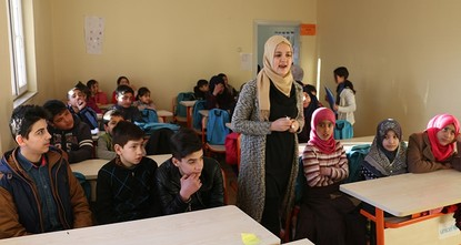 pAfter fleeing civil war and violence in their country, 120 Syrian students have continued their education through intensive Turkish courses in the southeastern city of Siirt, and many are now...