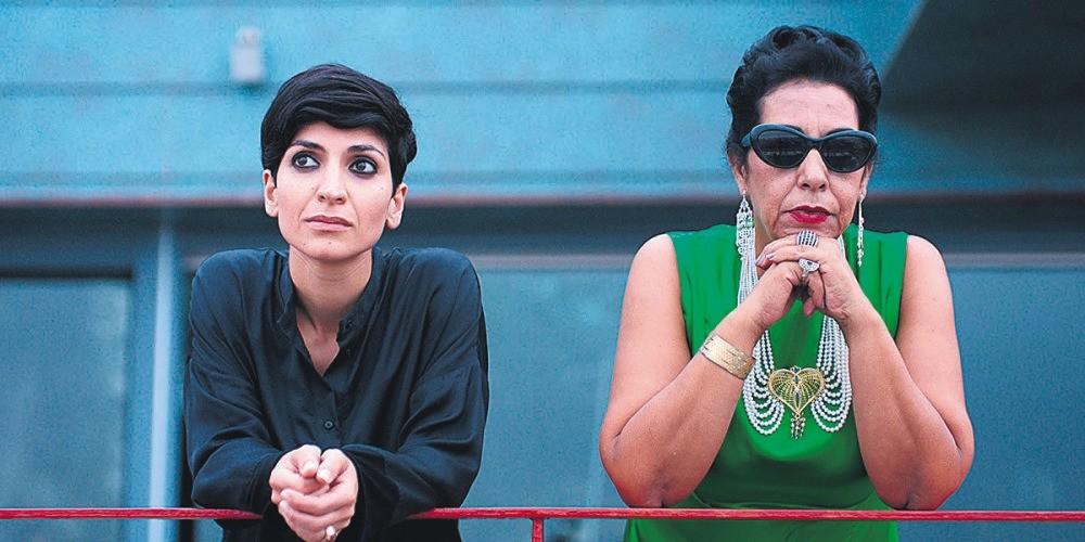 Still from the film ,Looking for Umm Kulthum.,