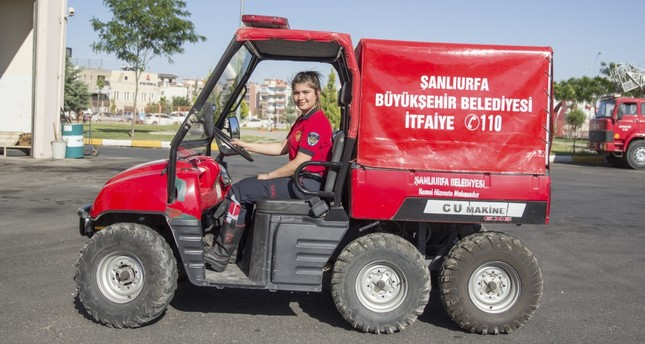 Şanlıurfa firewoman challenges prejudice