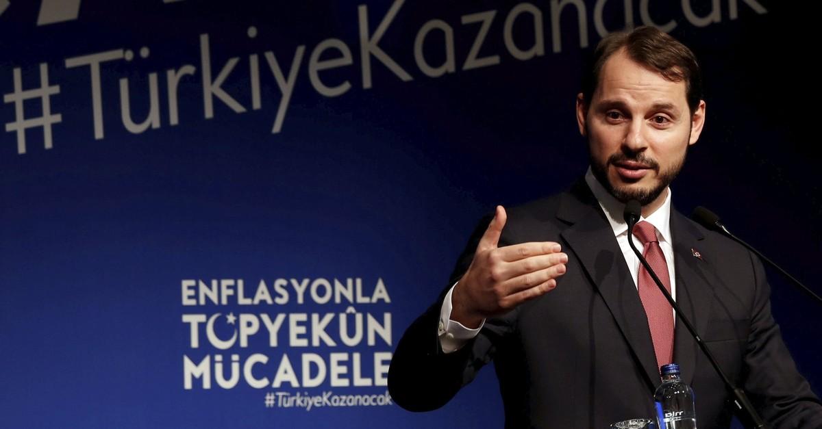 Treasury and Finance Minister Berat Albayrak.