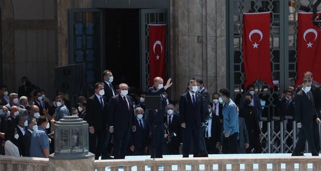 بمشاركة أردوغان.. افتتاح مسجد تقسيم وسط إسطنبول