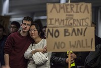 US federal judge halts Trump's immigration ban