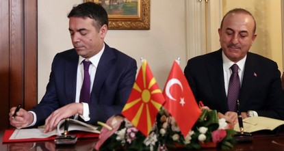 Ankara supports Macedonia in name dispute