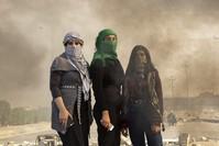 النساء العراقيات في الاحتجاجات الفرنسية