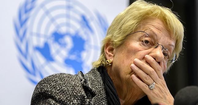 (الفرنسية) عضوة لجنة التحقيق المستقلة التابعة للأمم المتحدة حول سوريا
