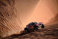 Peterhansel sneaks 11th stage win in Dakar rally