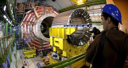 Turkish scientists sweat over CERN's new experiment