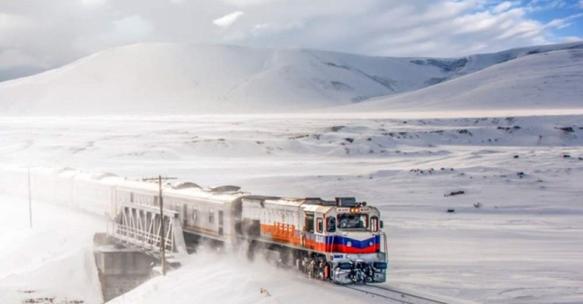 A picturesque snow blanket awaits passengers of the Eastern Express throughout their journey. (File Photo)