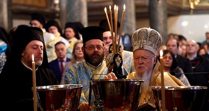 Orthodox Christians in Turkey celebrate Christmas Eve