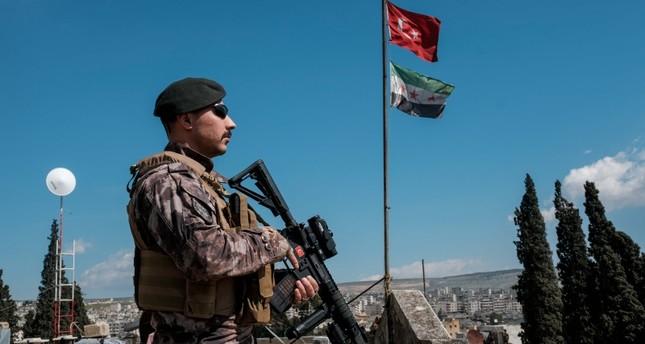 الجيش التركي يرد على مصدر إطلاق نار في عفرين من طرف ي ب ك الإرهابي