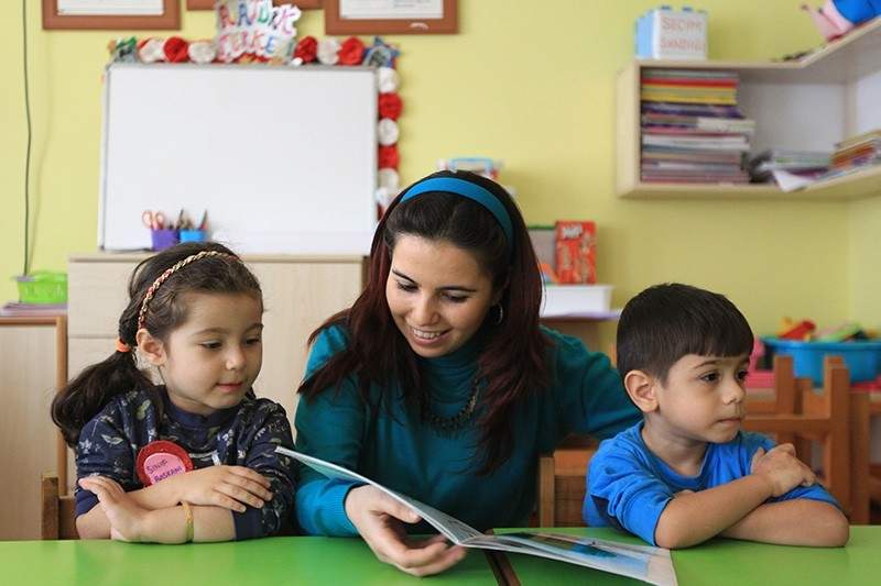 Turkish preschool teacher Nurten Akkuu015f is among the world's top 50 teachers selected as finalists for the Global Teacher Prize. (AA Photo)