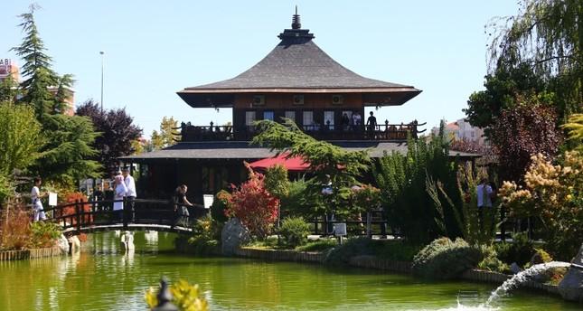 حديقة كيوتو اليابانية في قونيا.. جسر صداقة بين بلدين