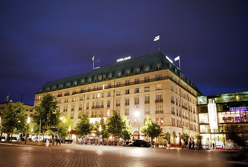 In this June 18, 2015 file photo hotel Adlon is pictured in Berlin, Germany. (AP Photo)