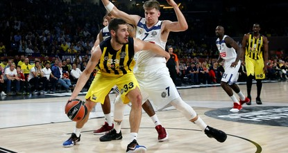pIstanbul giants Fenerbahçe advanced to the Euroleague final after beating Real Madrid 84-75 late Friday./p