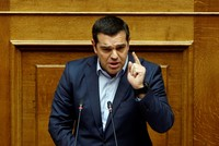 Greece's Tsipras seeks mandate to revive demand for German WWII reparations