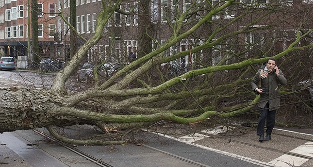 Huge storms in Europe leave at least 4 dead