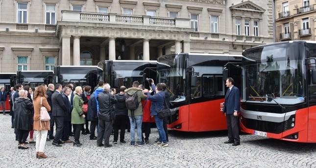 شركة BMC التركية تسلم صربيا 8 حافلات للنقل الجماعي