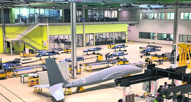 Designed with twin-engine mechanism, Baykar Makina's new combat drone Akıncı has started being manufactured.