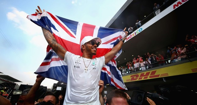 Hamilton's 4th title ranks him among Formula 1's great drivers