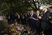 VP Oktay, FM Çavuşoğlu visit Christchurch mosques