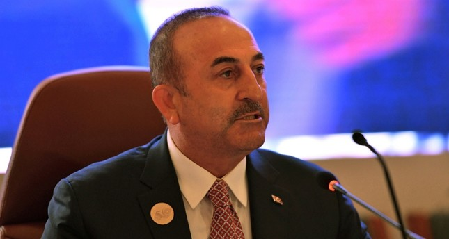 Foreign Minister of Turkey Mevlüt Çavuşoğlu in Jeddah, Saudi Arabia, May 29, 2019. (Reuters Photo)