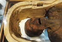 Egypt displays 'Screaming Mummy' at Cairo museum