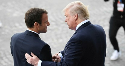 Macron to urge Trump to stick with Iran nuclear deal