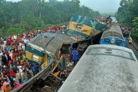 At least 15 killed in Bangladesh train collision