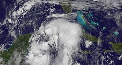 Der östlich von Mexiko wütende Tropensturm Nate ist auf seinem Weg Richtung USA zu einem Wirbelsturm hochgestuft worden. Nate sei nun ein Hurrikan der Kategorie 1, teilte das US-Hurrikanzentrum NHC...
