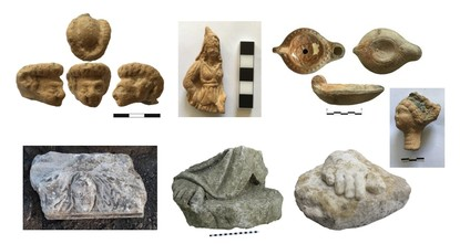 Excavations in ancient city of Smyrna reveal figurines of ancient artists