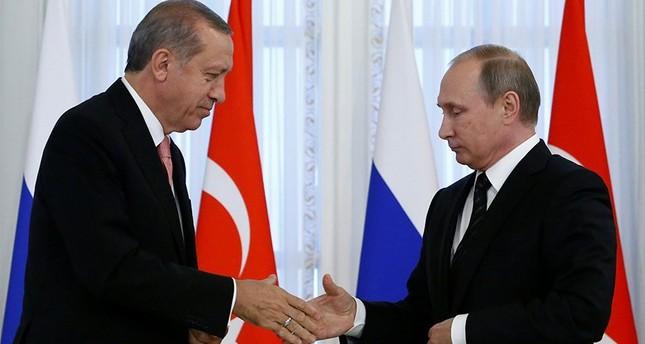 ملفات اقتصادية على رأس قمة أردوغان - بوتين في روسيا غداً