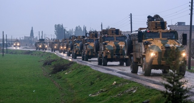 Turkey has been deploying military equipment and forces near the Syrian border for a possible operation east of the Euphrates.