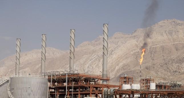 حقل غاز في إيران (رويترز)