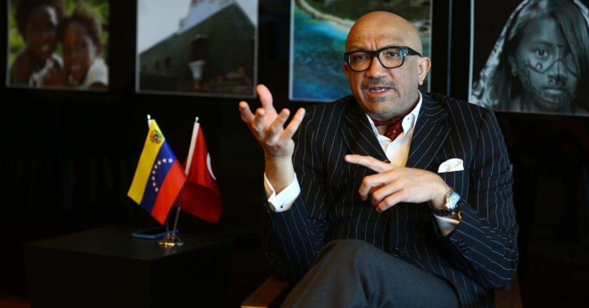 Venezuela's Ambassador to Turkey Jose Bracho Reyes. (AA Photo)