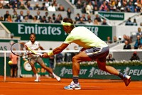 Nadal dominates Federer to reach 12th French Open final