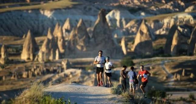 The Salomon Cappadocia Ultra-Trail race is scheduled to kick off on Oct. 19. İHA