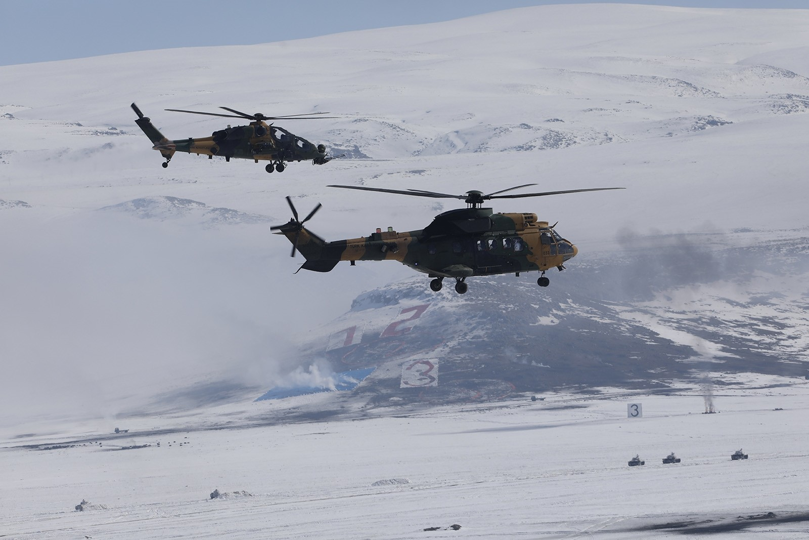Turkey's Winter-2019 exercises