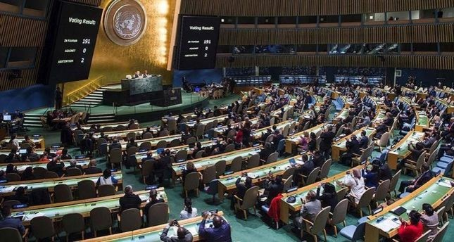 UN votes to start negotiations on nuclear weapons ban