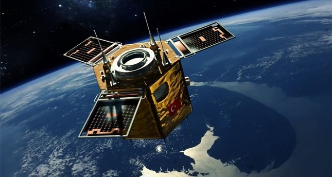 Turkey's high-resolution national discovery satellite Göktürk-2. (FILE Photo)