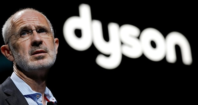 Dyson CEO Jim Rowan speaks during a product launch event in Beijing, China September 12, 2018. Reuters Photo
