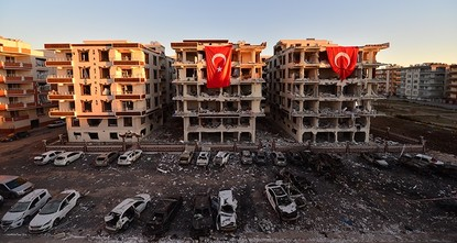 pTwo people including an 11-year-old child have been killed and 17 people have been injured by a car bomb blast near lodgings of judges and prosecutors in Turkey's southeastern Şanlıurfa province...