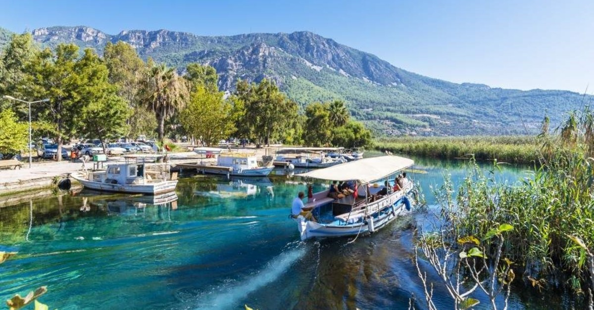 Visitors of Akyaka usually take boat tours to visit nearby beaches. (iStock)