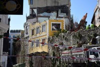 Demolition begins for hotel on the Istanbul city wall