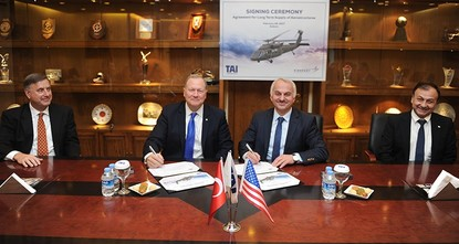 pTurkish Aerospace Industries (TAI) has signed a 10-year agreement with the U.S. aircraft manufacturer Sikorsky in Ankara on Tuesday, for the production of various components used in military...
