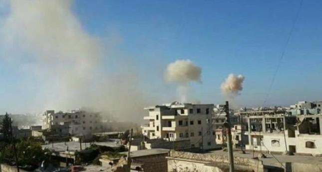 مقتل مدني وإصابة آخرين في قصف لقوات الأسد على إدلب