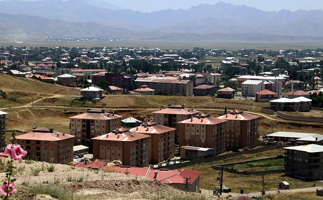 This picture dated August 2, 2016 shows a panorama of Yüksekova, the proposed center of Hakkari province, which will also be renamed as Çölemerik. (AA Photo)